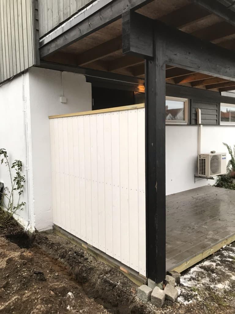 Skape sin egen lille plass på hytta i nevlunghavn
