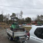 Nevlunghavn vedlikeholdsservice har bil-henger-liten maskin