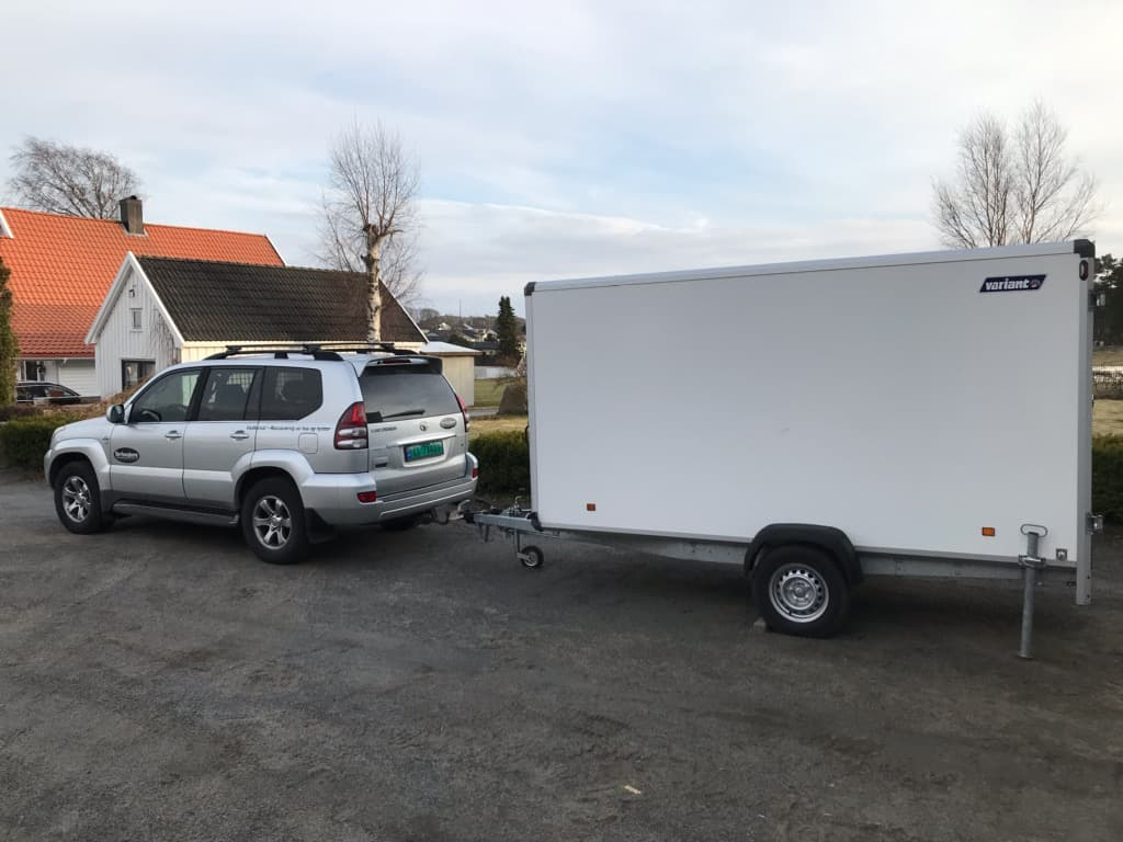 Nevlunghavn vedlikeholdsservice har bil-henger