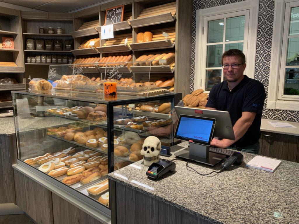 Com2gether med ny kasseløsning til Nevlunghavn Bakeri