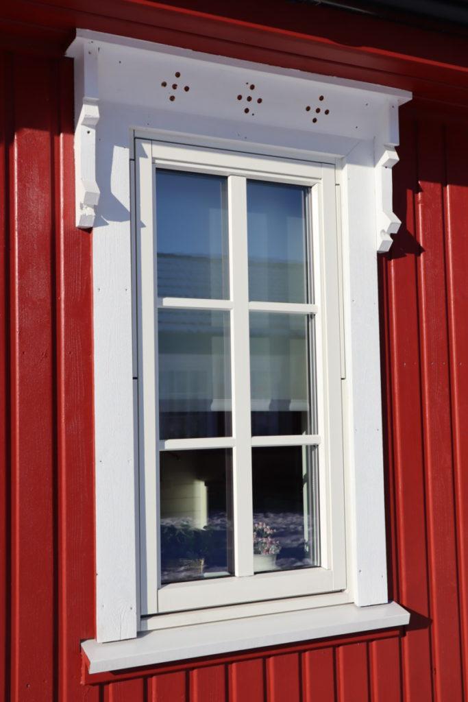Kopi av det elste huset på Brunvall Gård