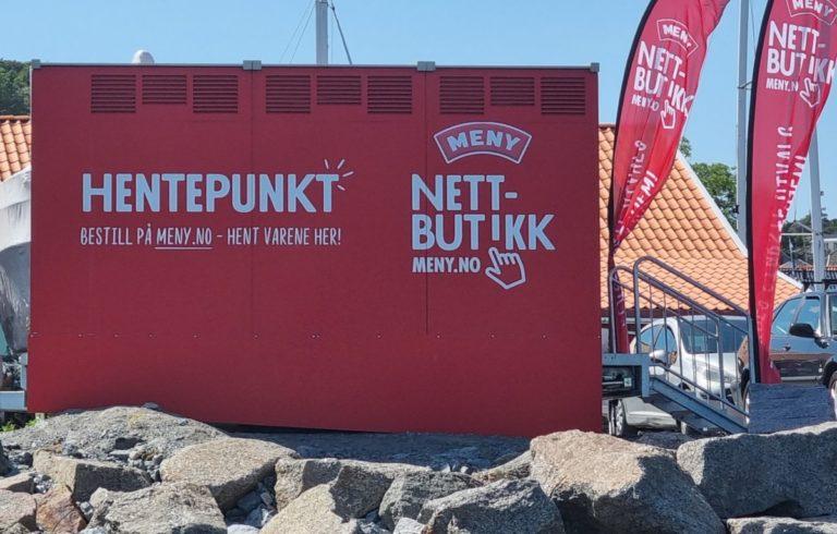 Meny Helgeroa sitt nye hentepunkt i Nevlunghavn