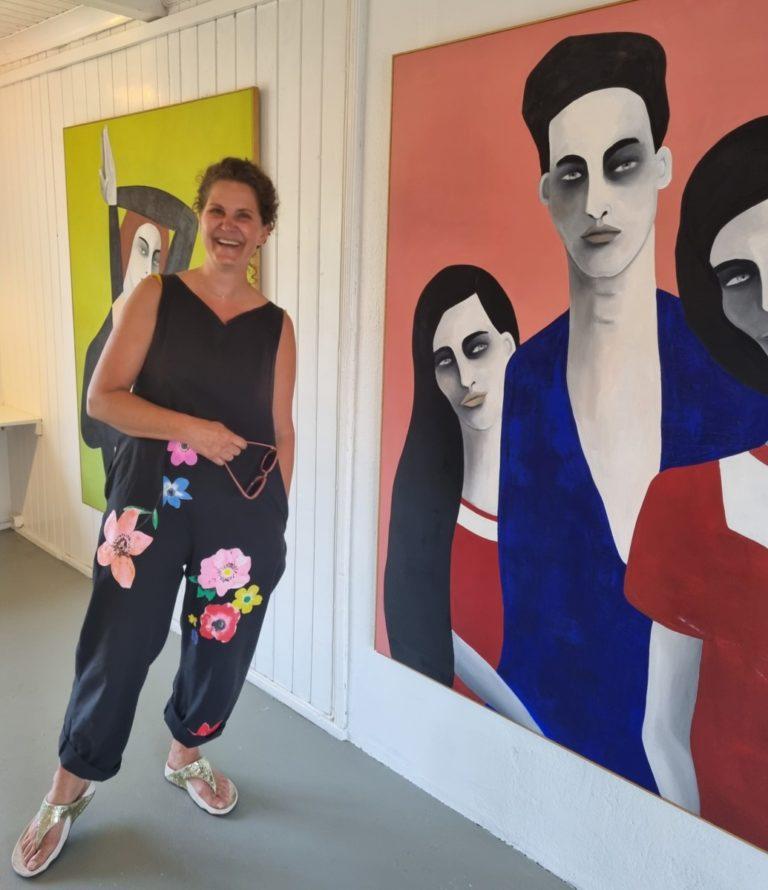 Kristin Hjellegjerde Gallery summer 2021 Nevlunghavn