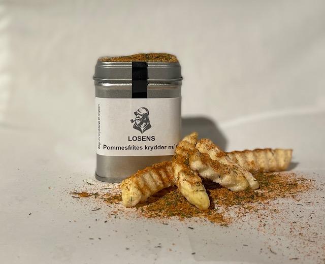 Pommes frites krydder med dill